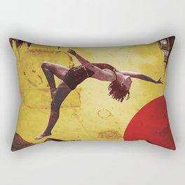 Licorice Twist Rectangular Pillow