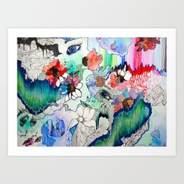 Upload Art Print