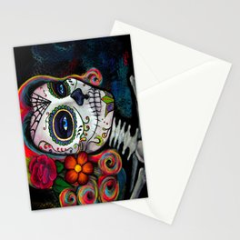 Sugar Skull Candy Stationery Cards