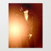 shinee Canvas Prints featuring Taemin - SHINee Art Photoshoot by Layla Who