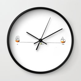 Find Balance Wall Clock