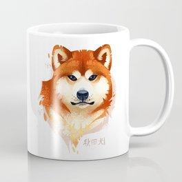 Akita Stylistic Portrait Coffee Mug