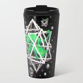 Trixel Stars - M. C. Escher Travel Mug