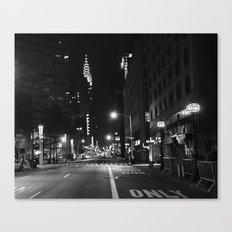 Lexington Ave.  1:15am Canvas Print