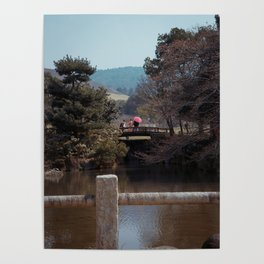 Couple in Nara Poster