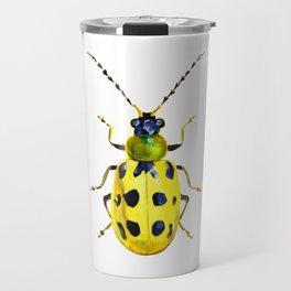 Spotted Cucumber Beetle Travel Mug