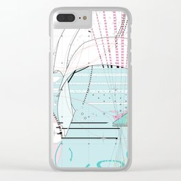 abstract movement 2.0 Clear iPhone Case