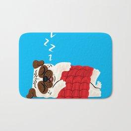 Pug In A Rug Bath Mat