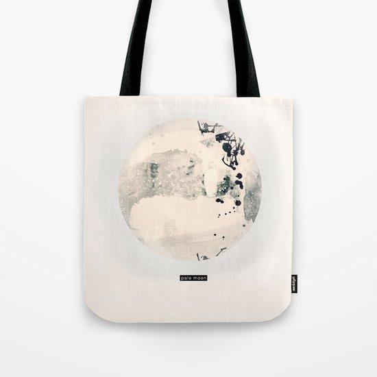 pale moon Tote Bag