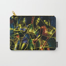 African Dancing Girls Carry-All Pouch
