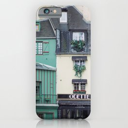 Cafe Odette - Paris Travel Photography iPhone Case