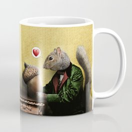 Mr. Squirrel Loves His Acorn! Coffee Mug