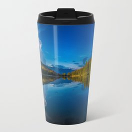 Peaceful Lake Panorama Travel Mug