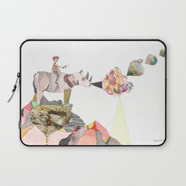 Rhinos Smell Roses Too Laptop Sleeve