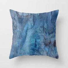 Ocean Wash Throw Pillow