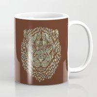 royal Mugs featuring Lion (Royal) by Norman Duenas