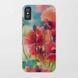 Poppy Parade iPhone Case