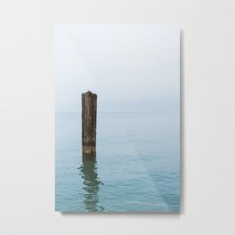The Calm Metal Print