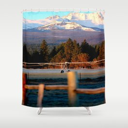 Morning Irrigation Shower Curtain