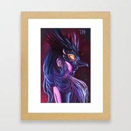 Odile Framed Art Print