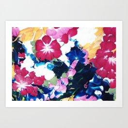 Colour memories Art Print