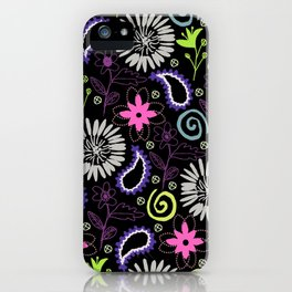 PAISLEY FLORAL iPhone Case