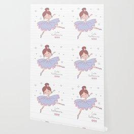 Cute Ballerina Wallpaper