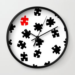 DT PUZZLE ART 2 Wall Clock
