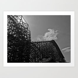 The same ups and downs Art Print