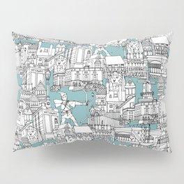 NOTTINGHAM BLUE Pillow Sham