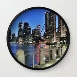 Brisbane River Walk Wall Clock