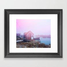 Coastal Fog Framed Art Print
