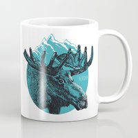 alaska Mugs featuring Alaska by Krikoui