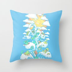 Tower of Fable Throw Pillow