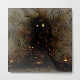 Revenant of a Childhood Toy Metal Print