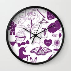 Sugar and spice and everything nice. Wall Clock