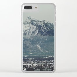 another day in salzburg 6b Clear iPhone Case