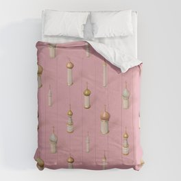 Dome Pink Comforters