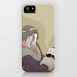 The Faceless Ghost_Light iPhone Case