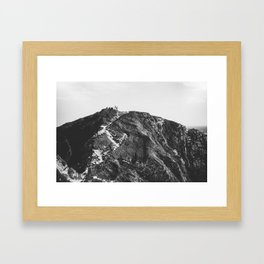 Jurassic Coast Framed Art Print