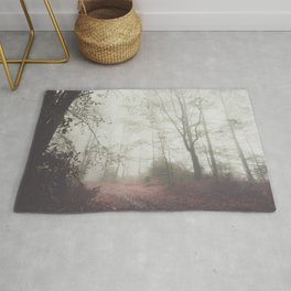 Autumn paths II - Landscape and Nature Photography Rug