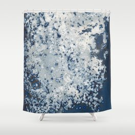 Partly cloudy Shower Curtain