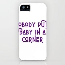 In a Corner iPhone Case