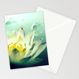 Ocean's Lotus Stationery Cards