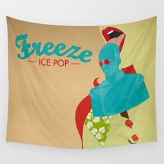 Freeze Ice Pop Wall Tapestry