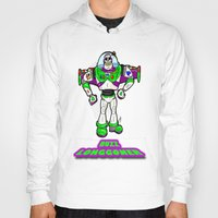 buzz lightyear Hoodies featuring Buzz Longgoner...  The spookier version of Pixar's Buzz Lightyear from Toy Story by beetoons