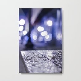 Dropplets Metal Print