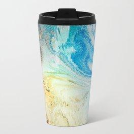 Swirling Flirtatious Abstract Happiness Travel Mug
