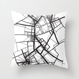 Suspension (Fractal Scaffold series #2) Throw Pillow
