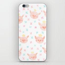 Piggy Prince iPhone Skin